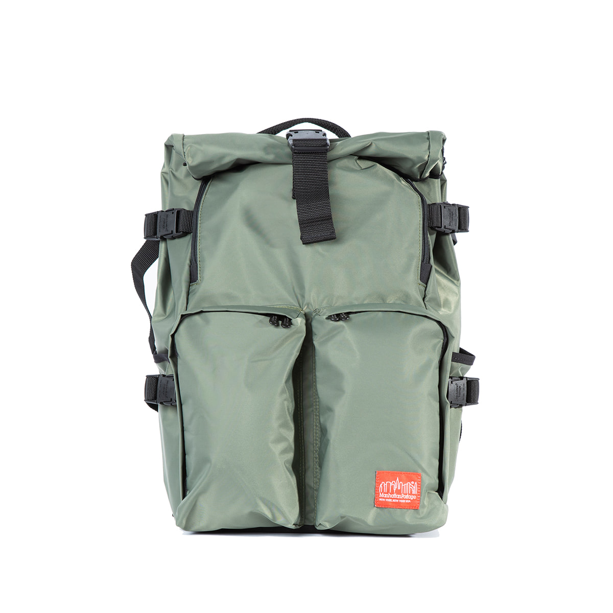 "Flight Nylon Focus Backpack ""OLIVE"""