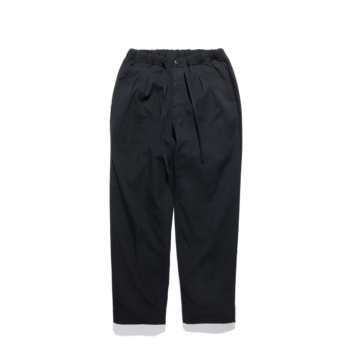 "Warm Tone Easy Pants ""BLACK"""