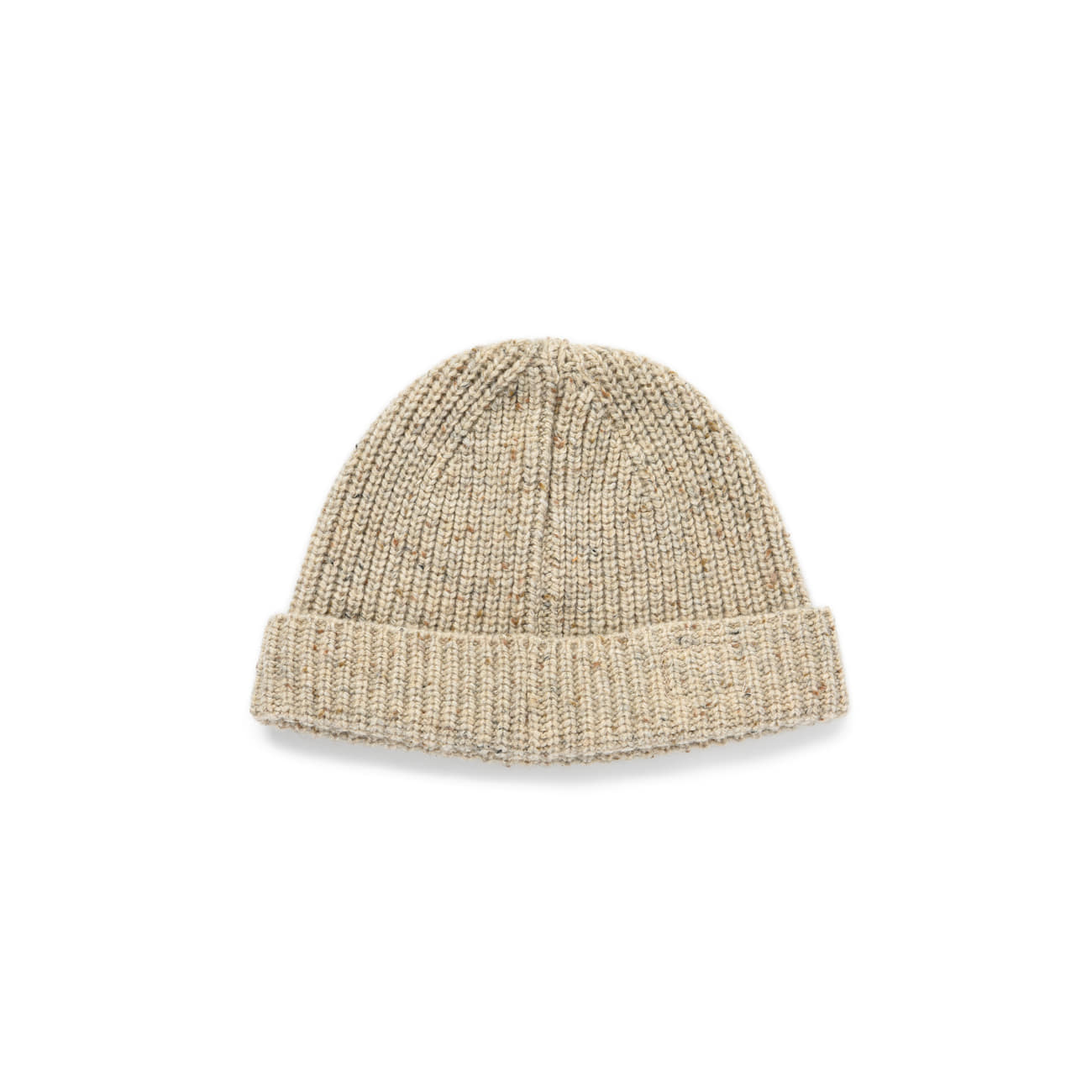 "Warm Tone Wool Beanie ""OATMEAL"""
