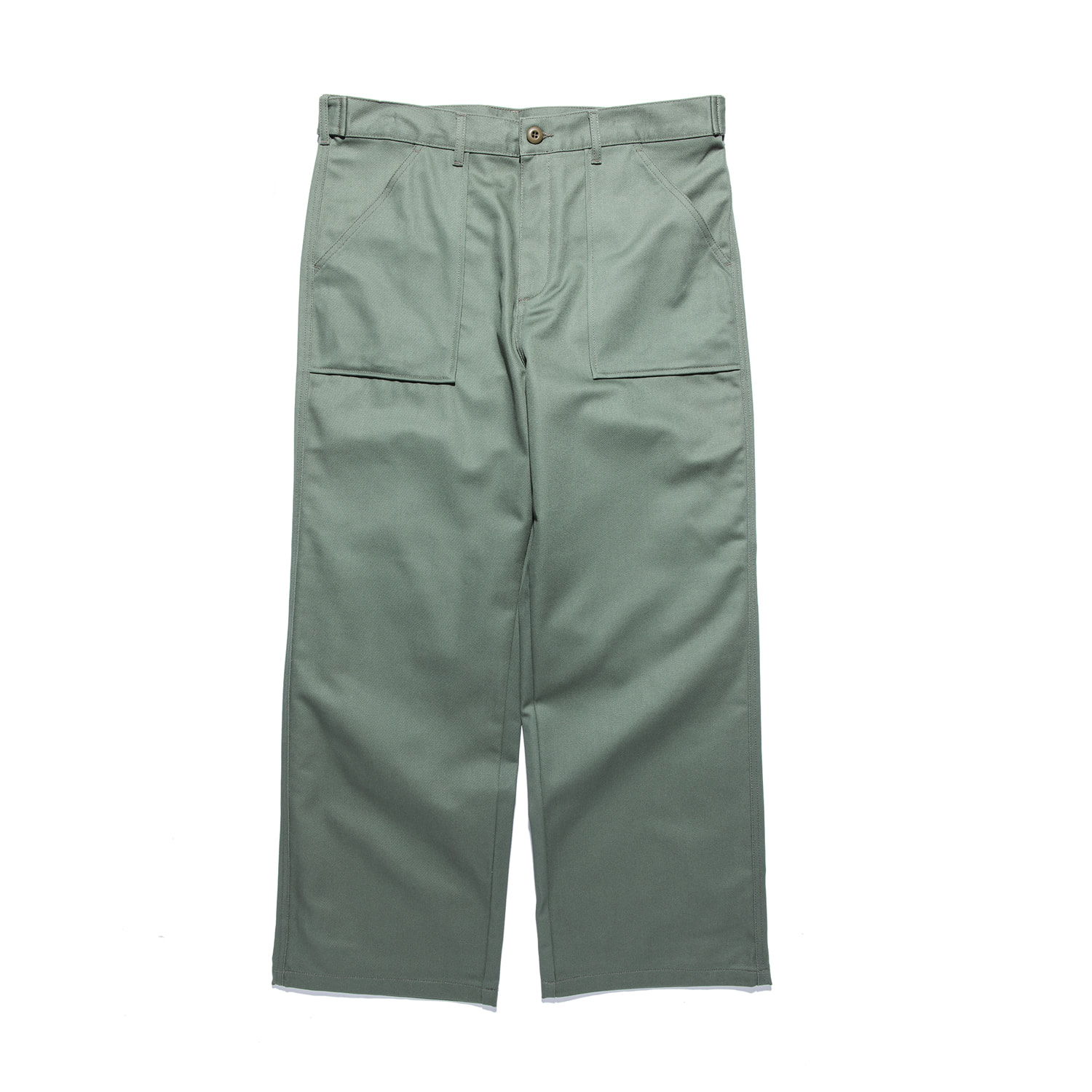 "STAN RAY Wide Leg Fatiogue ""OLIVE SATEEN"""