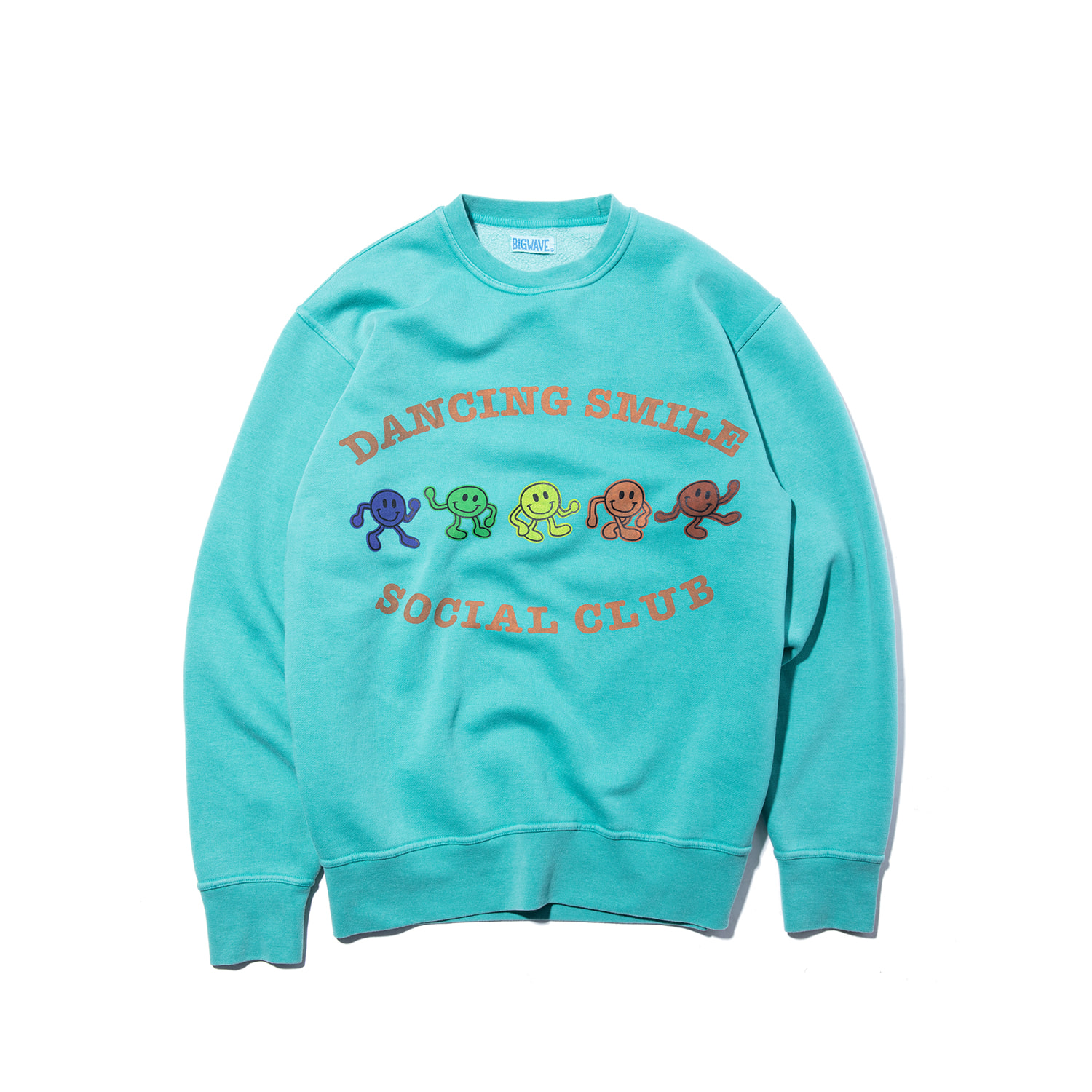 "Dancing Smile Sweat ""LEAF GREEN"""