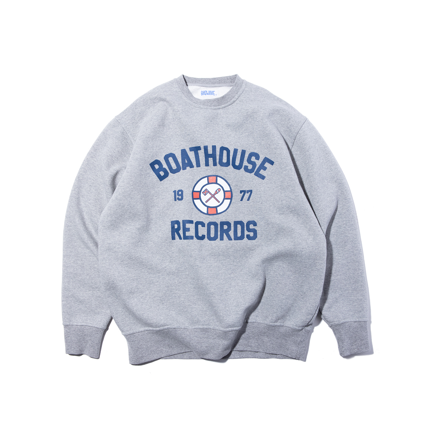 "Boathouse Records Sweat ""COLLEGE GREY"""