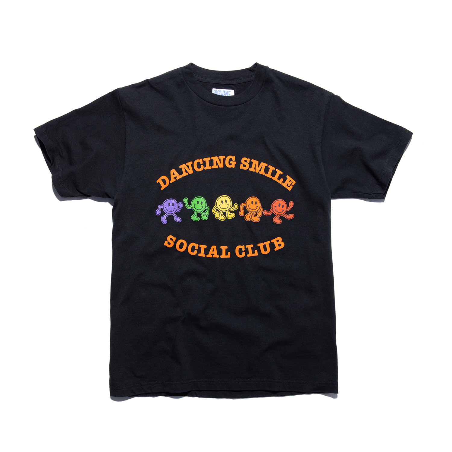 "Dancing Smile Tee ""VINTAGE BLACK"""