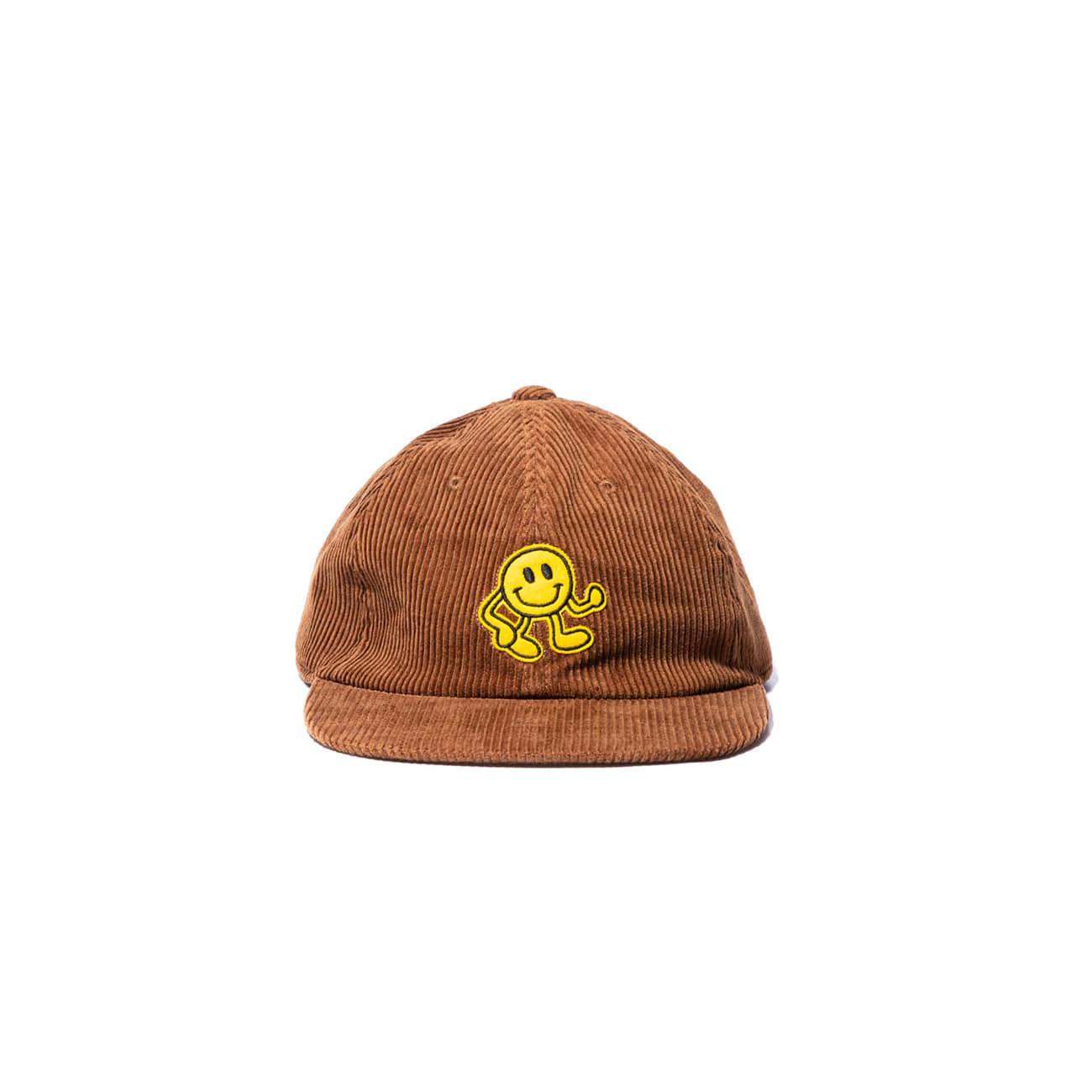 "Dancing Smile Fat Corduroy Cap ""MAROON"""