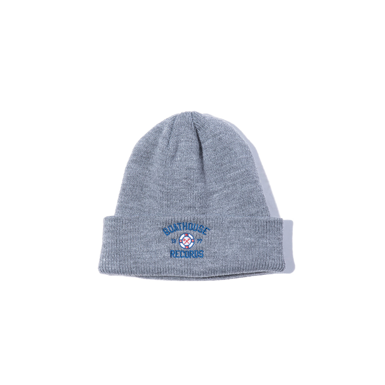 "Boathouse Records Watch Cap ""COLLEGE GREY"""