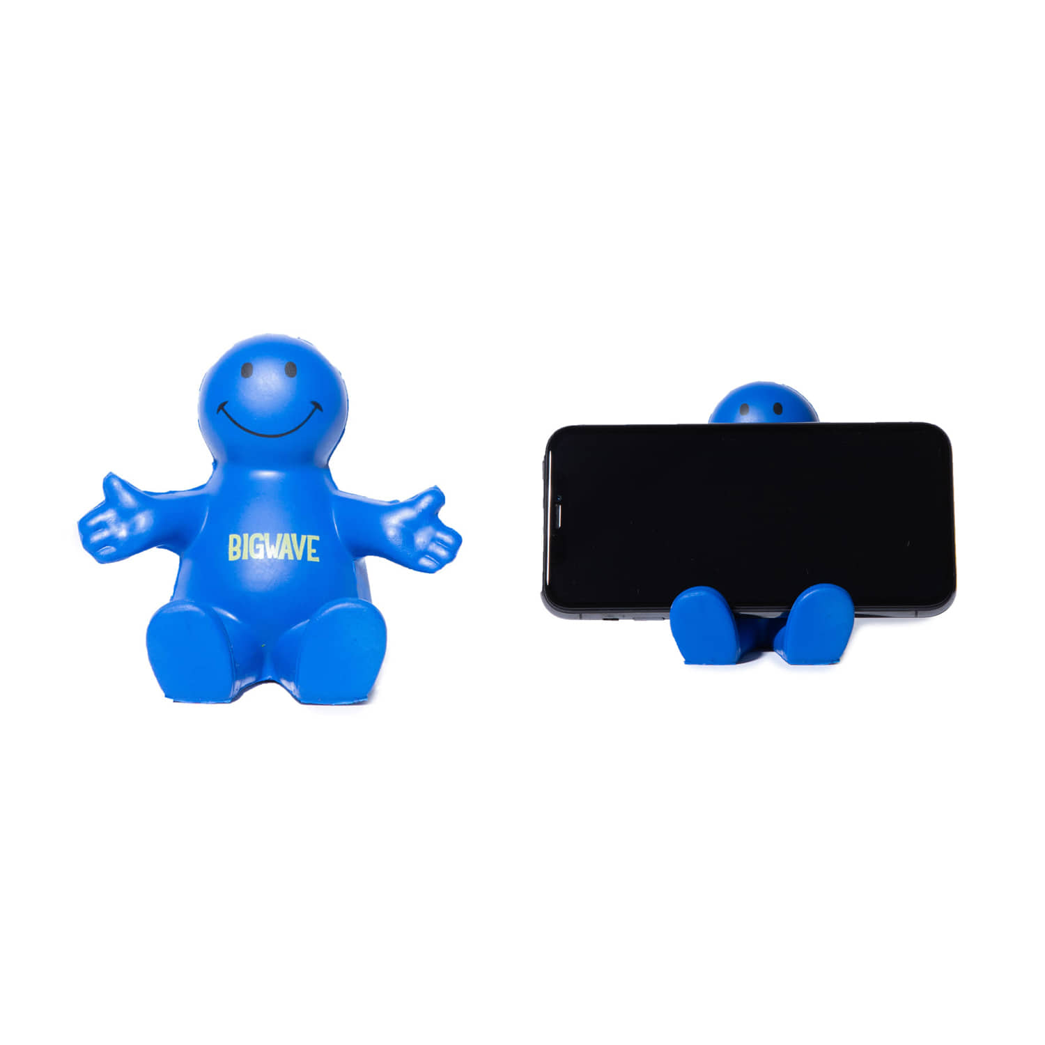 "Smile Phone Holder ""BLUE"""