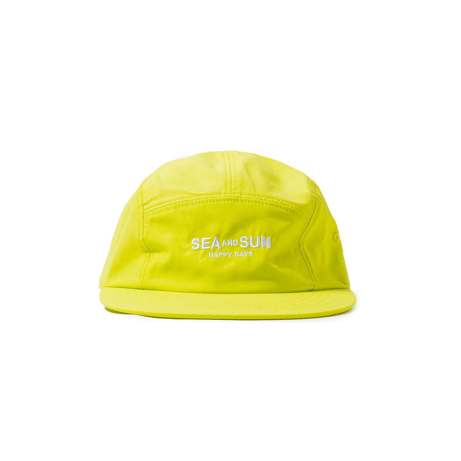 "S&S Happy Days Camp Cap ""LIME"""
