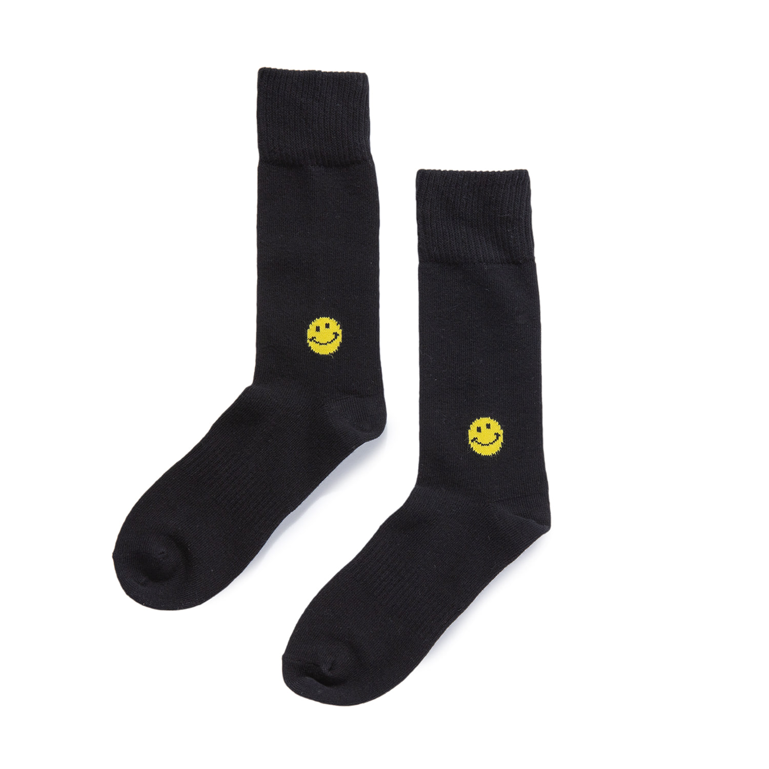 "Smile Socks ""BLACK"""