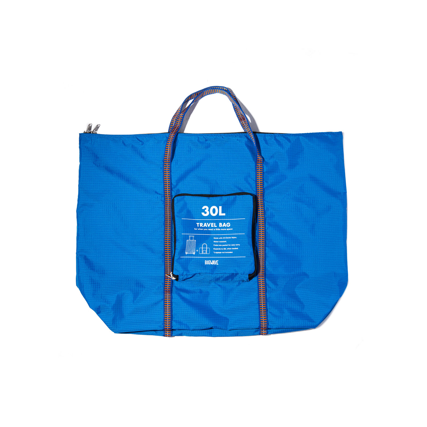 "Packable Travel Bag ""BLUE"""