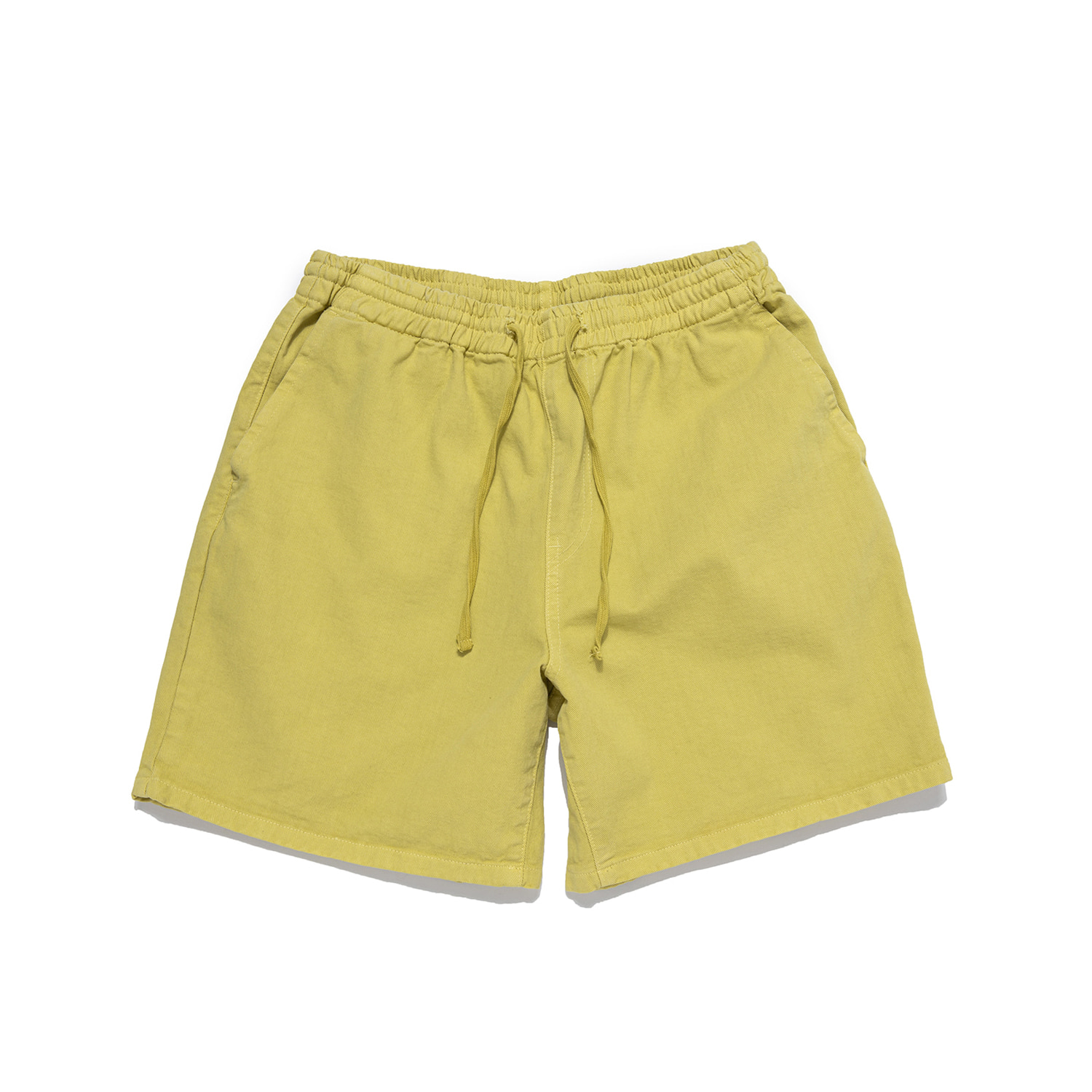 "Sulfur Dye Easy Shorts ""SUMMER LIME"""