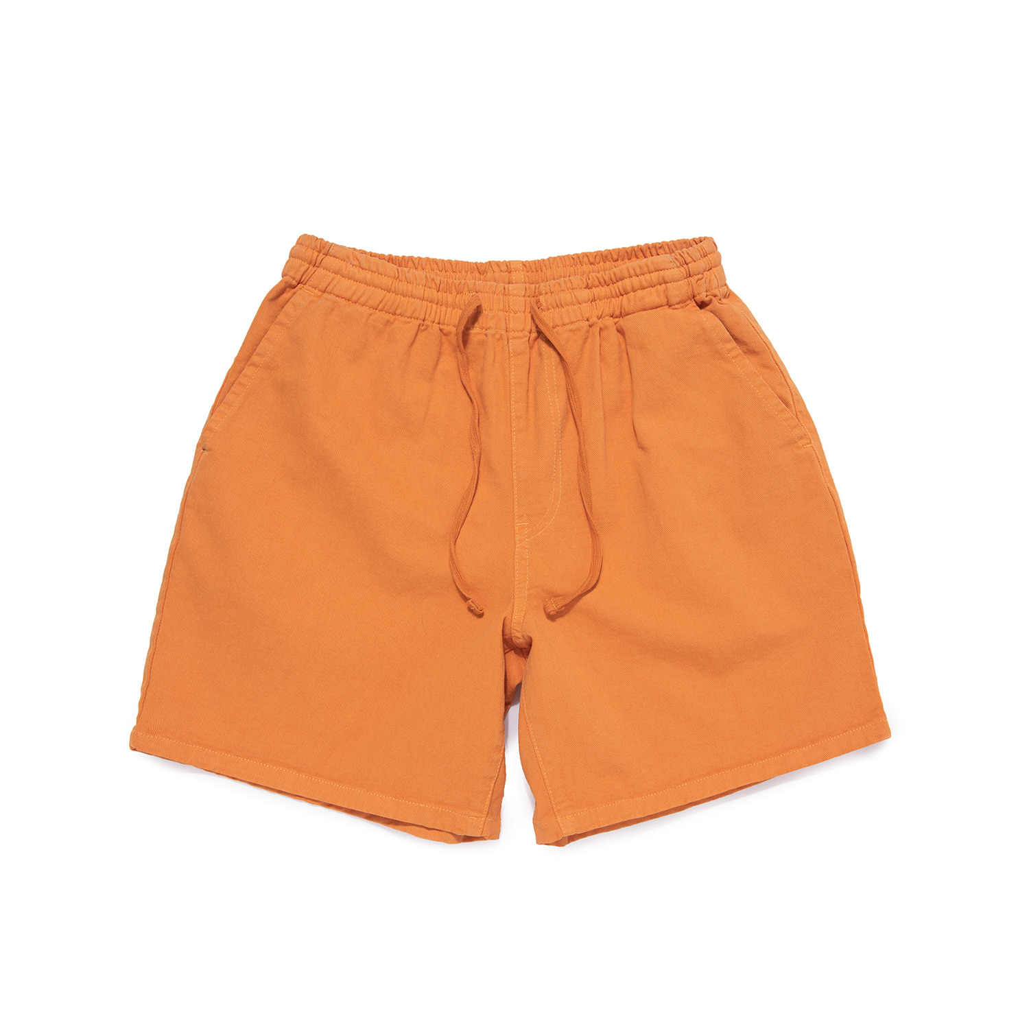 "Sulfur Dye Easy Shorts ""HOT ORANGE"""