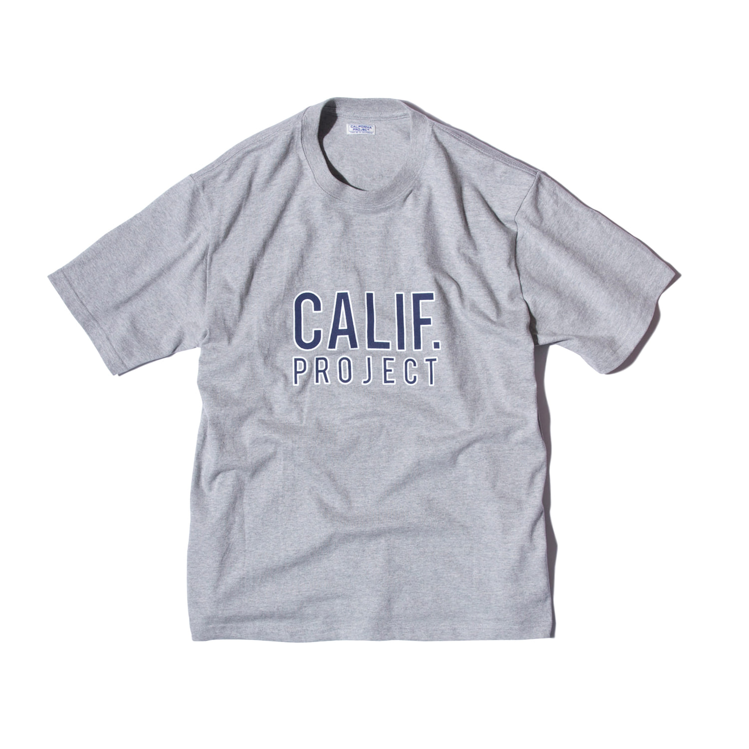 "Calif. Project Logo T-shirts ""GRAY"""