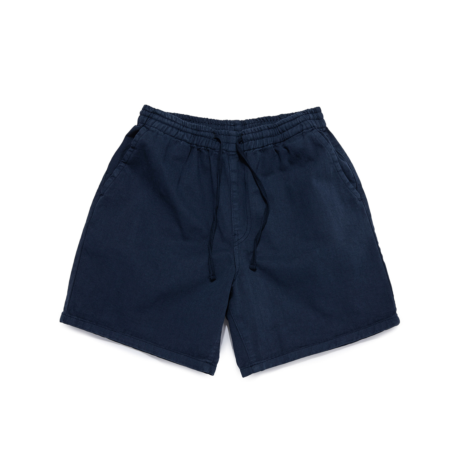 "Sulfur Dye Easy Shorts ""WASHED NAVY"""