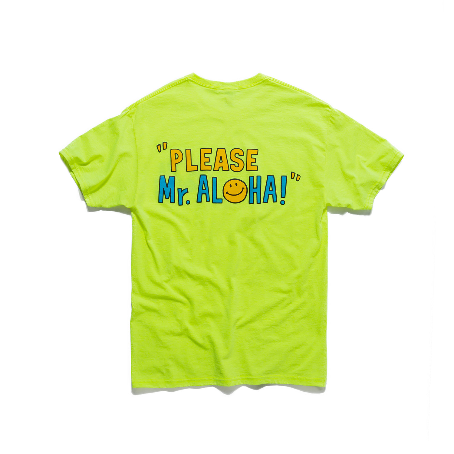 "Aloha House Tee ""80's POP GREEN"""