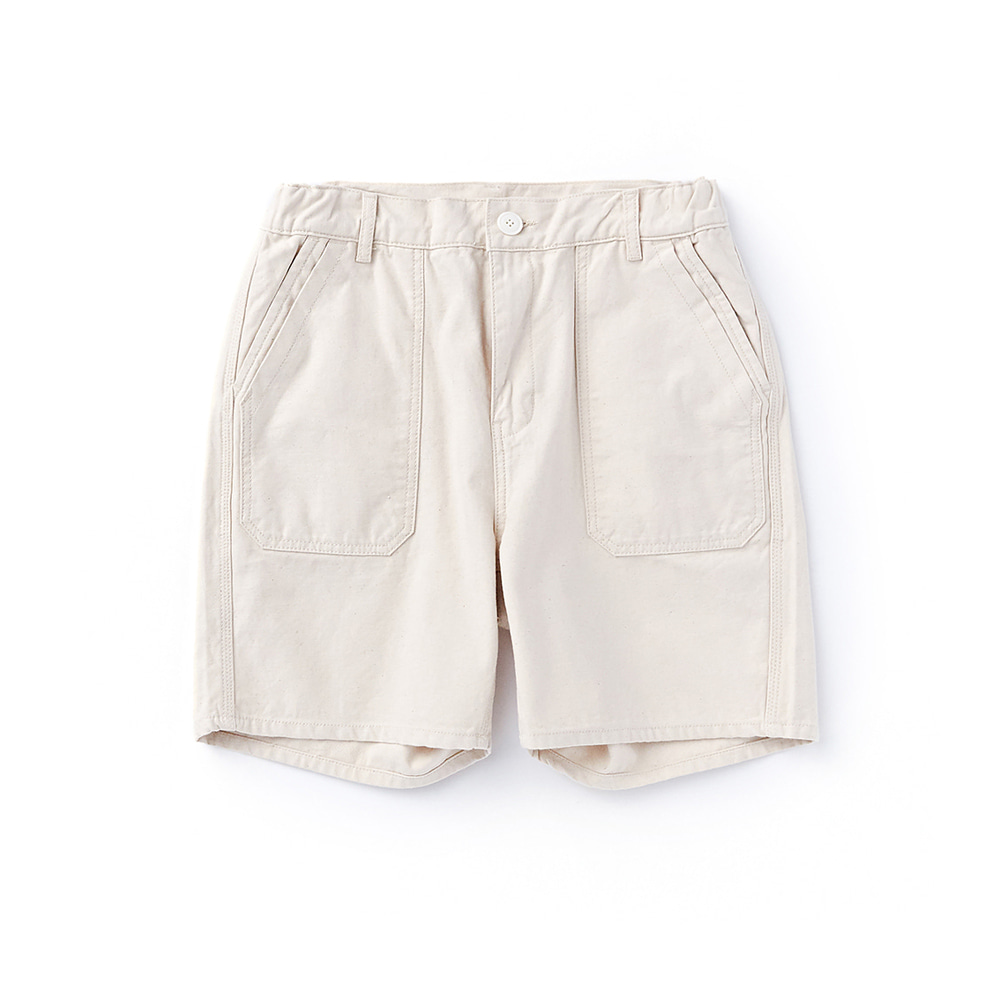 "FINAL SALECWSP-001 Fatigue Shorts ""ECRU"""