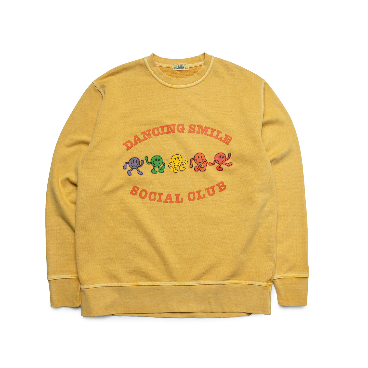 "Dancing Smile Sweat ""SAND YELLOW"""