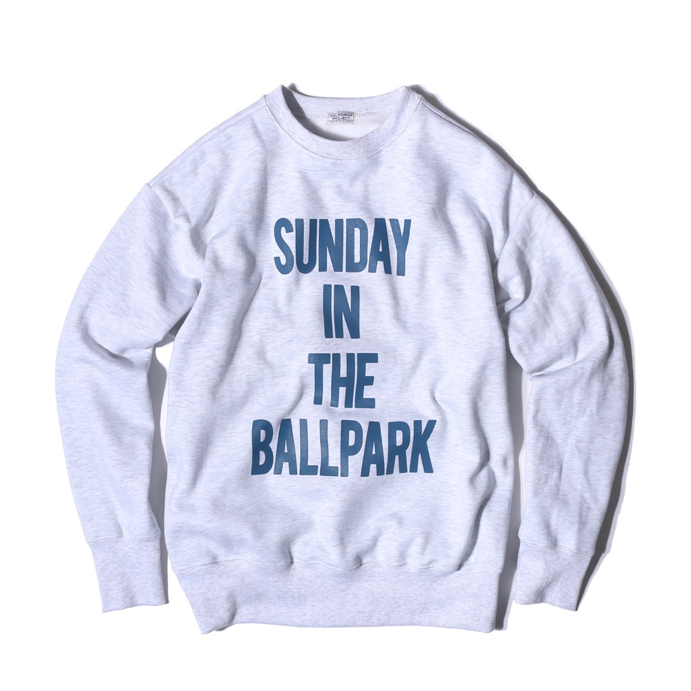 "Sunday Ballpark Sweatshirts ""MELANGE"""
