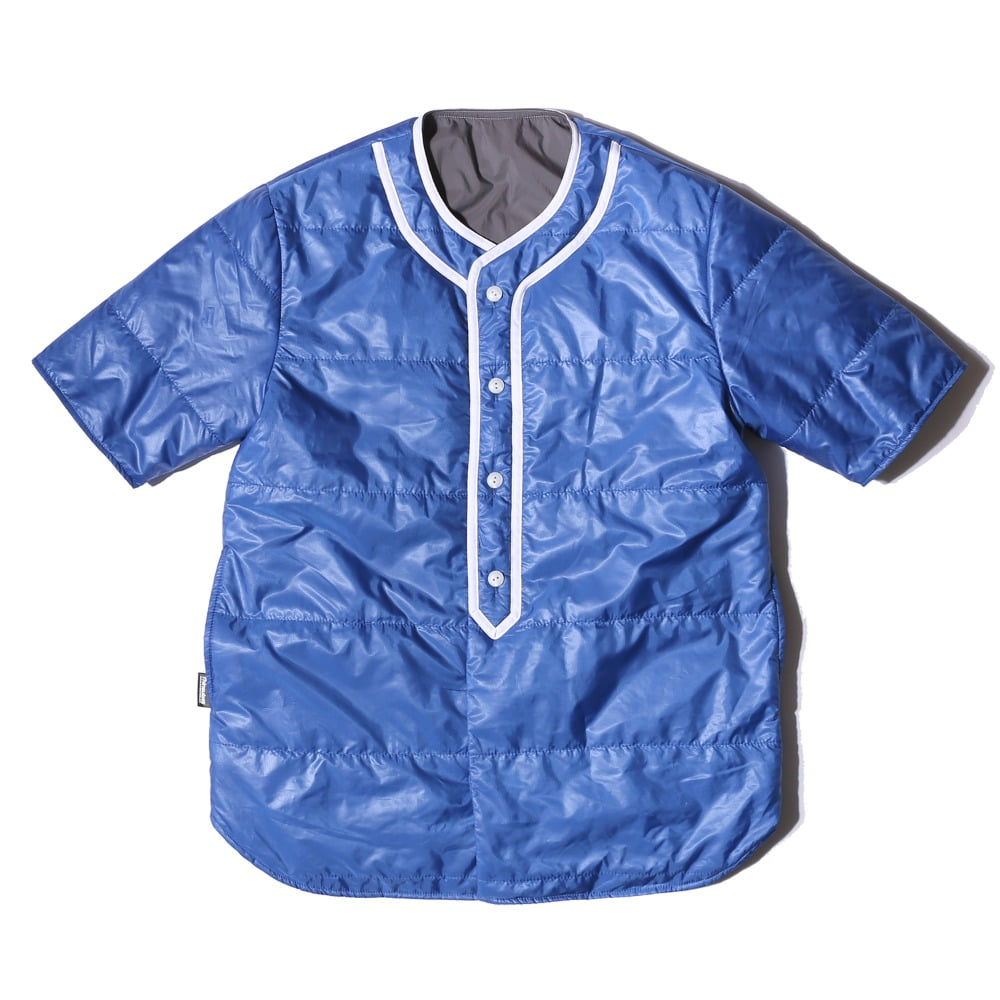 "Reversible Baseball Padding Shirts ""BLUE/GRAY"""