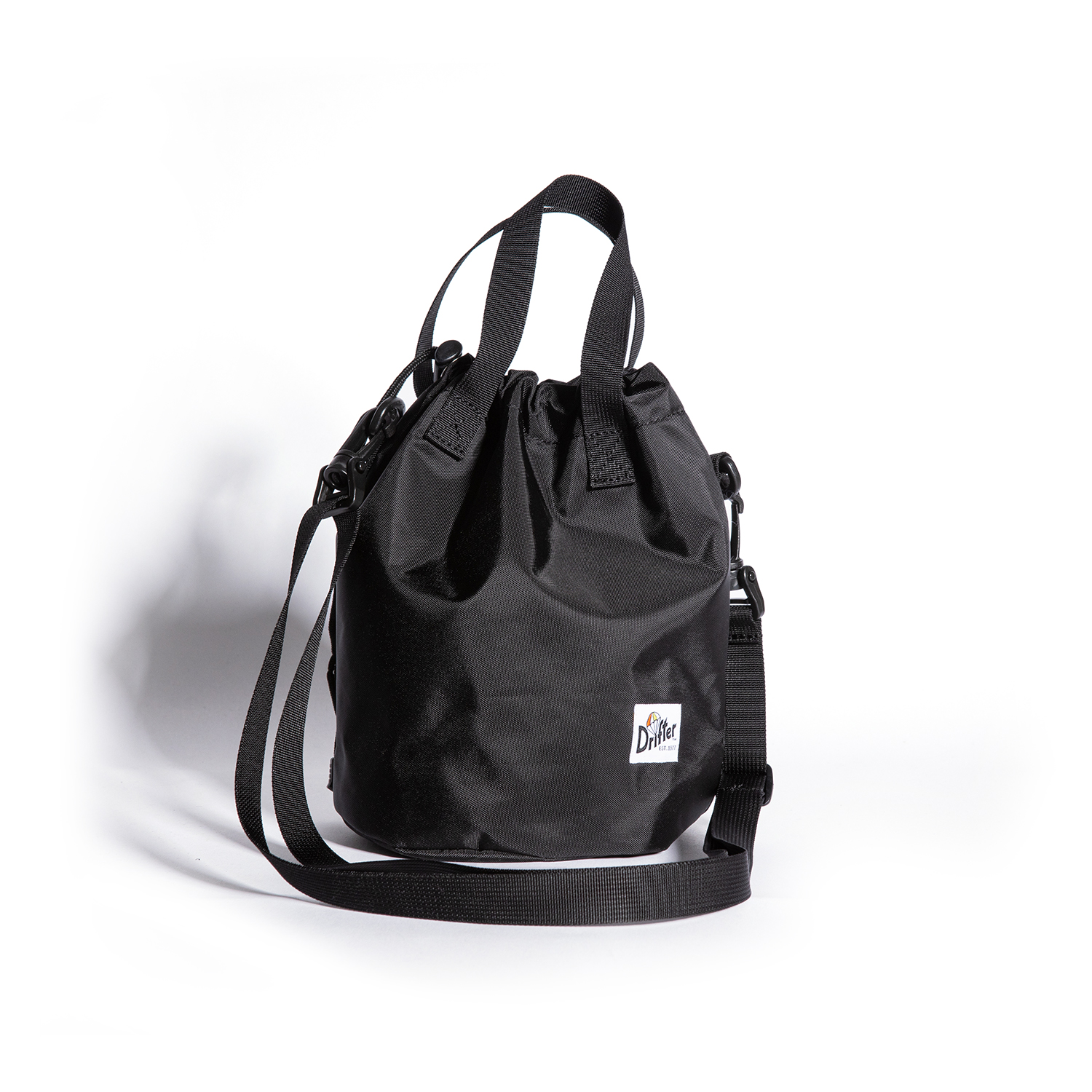 "Drawstring Pouch ""BLACK"""
