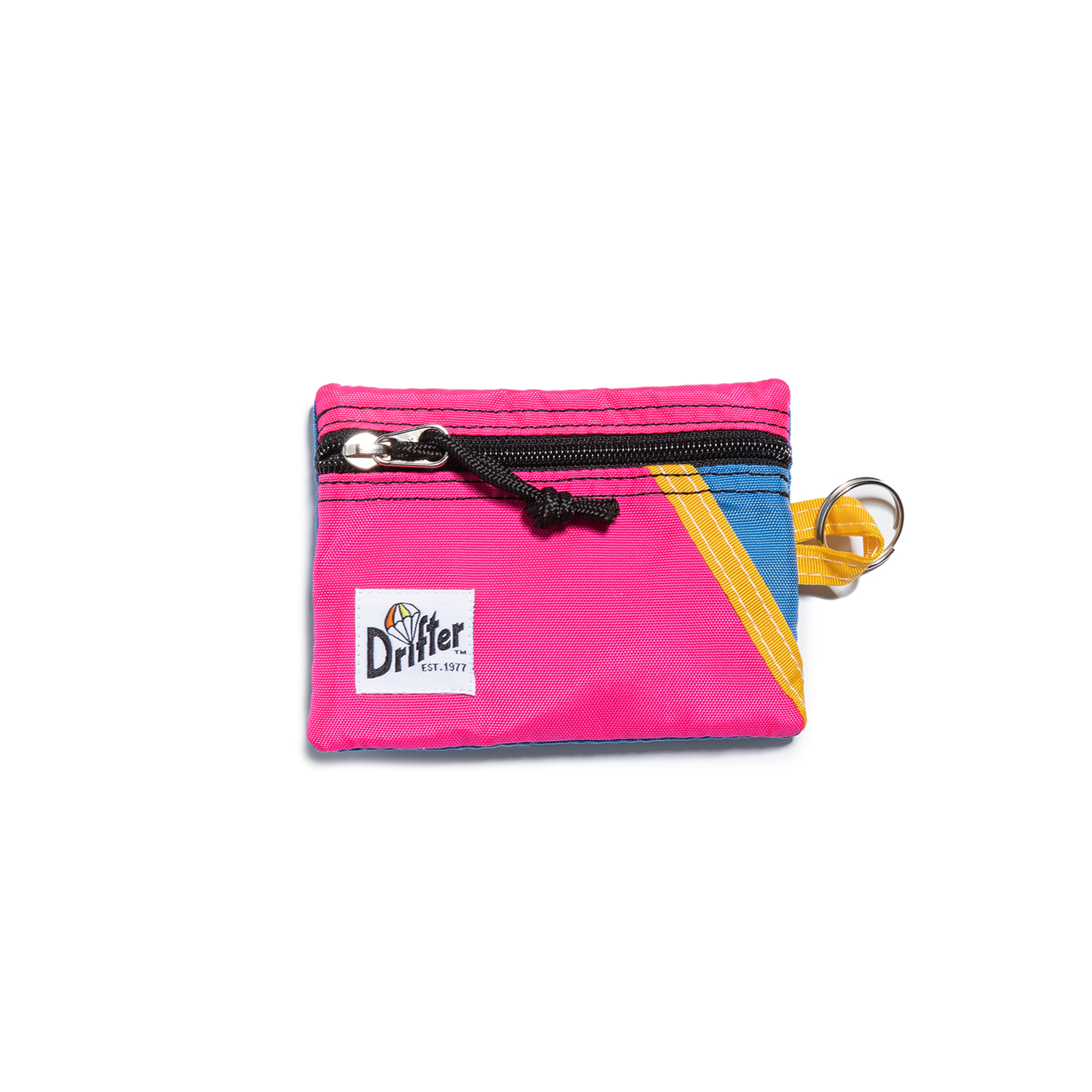 "Key Coin Pouch ""PINK x SL BLUE"""
